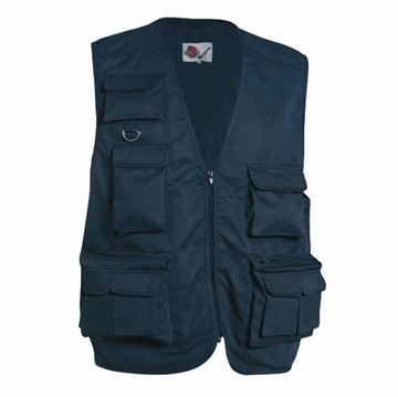 Picture of GILET BLUE MULTITASCHE