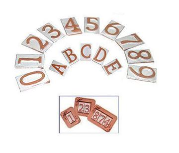 Picture of Numeri Civici in Terracotta Telcom
