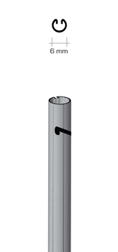 Immagine di Palo tutore zincato 6 mm (H 1,20)