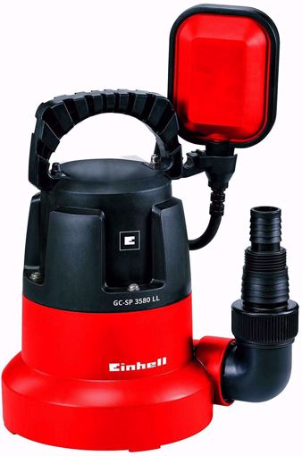Immagine di Pompa a immersione Einhell GC-SP 3580 LL sommersa acque chiare fondo piatto 350W